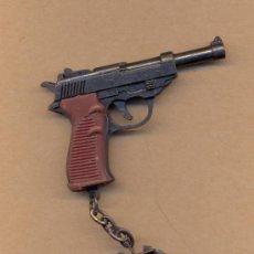 Militaria: MODELO 3 - LLAVERO DE PISTOLA AÑOS 70 CON MECANISMOS ARTICULADOS. Lote 229917540