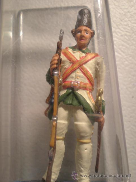 SOLDADITO DE PLOMO ANTIGUO--SOLDADO ESPAÑOL DEL 1800 (Militar - Reproducciones, Réplicas y Objetos Decorativos)