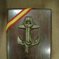 Militaria: METOPA DE LA MARINA. BRONCE.. Lote 109047900