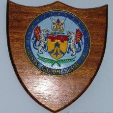 Militaria: METOPA PORTAVIONES USS GUAM LPH 9. Lote 23319583