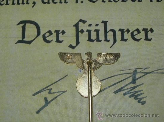 Militaria: ALFILER INSIGNIA PARTIDO NSDAP - Foto 3 - 55127219