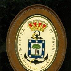 Militaria: METOPA DEL MINISTERIO DE MARINA. AYUDANTIA MAYOR.. Lote 26103461