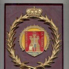 Militaria: ANTIGUA METOPA GRUPO DE INTENDENCIA DE LA DIMZ. Lote 28338414