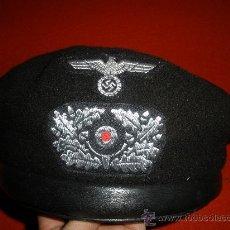 Militaria: EXCELENTE CASCO DE TANQUISTA DIVISIONES PANZER 1º MODELO. Lote 29476596