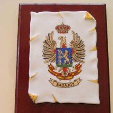 Militaria: METOPA MILITAR. USAC SANCHA BRAVA DE BADAJOZ. UNIDAD SERVICIO ACUARTELAMIENTO. EXTREMADURA. . Lote 29575596
