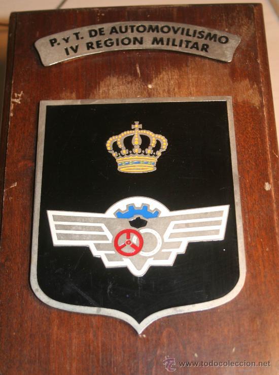 Militaria: METOPA MILITAR P . Y T. DE AUTOMOVILISMO IV REGION MILITAR - Foto 2 - 30608325