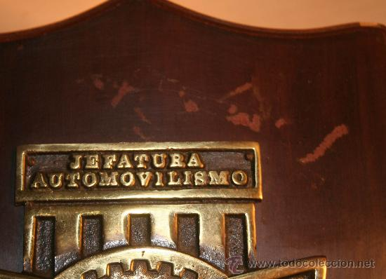Militaria: METOPA MILITAR JEFATURA DE AUTOMOVILISMO - Foto 3 - 30608272