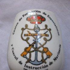 Militaria: JARRA DEL CENTRO DE FORMACION ESPECIALISTAS Y CUARTEL INSTRUCCION MARINERIA (S.FER. CADIZ).. Lote 30813340