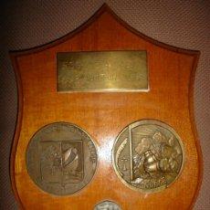 Militaria: METOPA FRANCESA ESCALA EN CADIZ DE LA ARMADA FRANCESA. JUNIO 1985. MEDIDAS: 30 X 20CM.. Lote 31692917