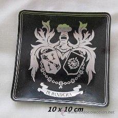 Militaria: BANDEJITA MILITAR DE LA LEGION ANTIGUO IX BANDERA. Lote 32747688