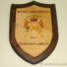 Militaria: METOPA MILITAR. EJÉRCITO ESPAÑOL EN BOSNIA HERZEGOVINA. BRIGADA CABALLERÍA CASTILLEJOS. SFOR. . Lote 33519040