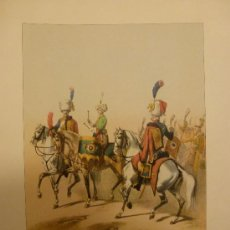 Militaria: LAMINA GUARDIA IMPERIAL 1804. Lote 33650435