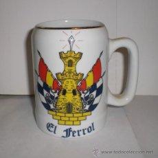 Militaria: JARRA DE COLECCION. CERAMICA. EL FERROL.. Lote 33708412