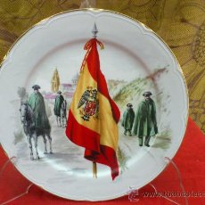 Militaria: PLATO GUARDIA CIVIL. MARCA EN LA BASE.. Lote 33715049