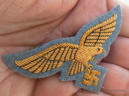 Militaria: Alemania. II Guerra Mundial. Distintivo bordado - Foto 2 - 194207648