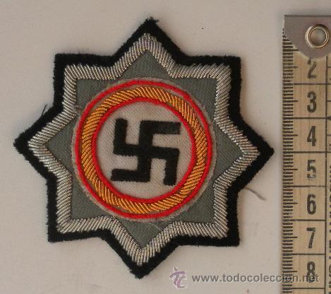 Militaria: Alemania. II Guerra Mundial. Distintivo bordado. - Foto 2 - 194207742