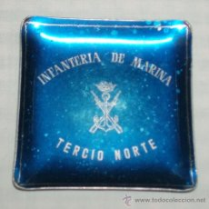Militaria: CENICERO INFANTERIA DE MARINA TERCIO NORTE. Lote 35587576