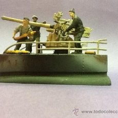 Militaria: DIORAMA CAÑÓN SUBMARINO Q-BOAT. Lote 36093653