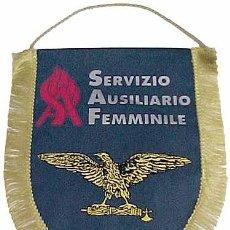 Militaria: BANDERÍN SERVIZIO AUSILIRIO FEMMINILE. ITALIA FASCISTA. 2ª GUERRA MUNDIAL. 1939-1945. Lote 36545068