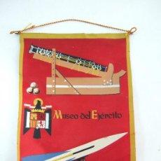 Militaria: BANDERIN DE TELA - MUSEO DEL EJERCITO - 21,5X15. Lote 36606071