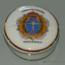 Militaria: JOYERO DE CERÁMICA. ARMADA ESPAÑOLA. PORTAVIONES PRÍNCIPE DE ASTURIAS. . Lote 37861486