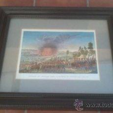 Militaria: RETRATO DE FRANCESES EN LA BATALLA DE LEIPSICK-BATALLA DE LAS NACIONES.1815. Lote 38010352