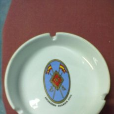 Militaria: GUARDIA CIVIL CENICERO PORCELANA DECORADO. Lote 38462522