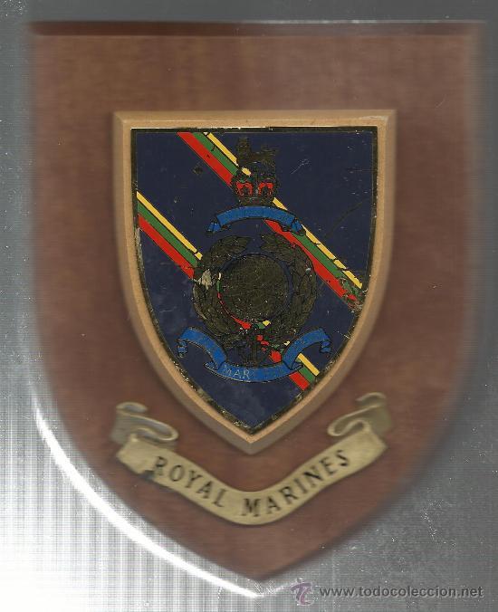 Militaria: ANTIGUA METOPA DE ROYAL MARINES DE GIBRALTAR - Foto 4 - 38946009