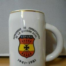 Militaria: JARRA DIVISION AZUL 1941-1981. Lote 39012776