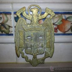 Militaria: AGUILA DE SAN JUAN, PORTA-PALILLOS BANDA MUSICA MIDE 17X11 CNTS. Lote 40302393