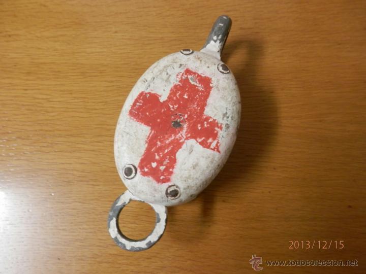 POLEA BARCO CRUZ ROJA (Militar - Reproducciones, Réplicas y Objetos Decorativos)