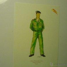 Militaria: LAMINA TAMAÑO CUARTILLA .-SOLDADO BRIGADA PARACAIDISTA.-UNIFORME PASEO. Lote 40720715