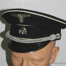 Militaria: REPRODUCCIÓN. II GUERRA MUNDIAL. GORRA ALEMANA. MUY BUENA CALIDAD, TALLA 59.. Lote 278816518