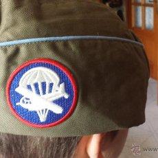 Militaria: MILITAR EEUU: GORRA BOINA DE LOS PARACAIDISTAS DE ESTADOS UNIDOS SEGUNDA GUERRA MUNDIAL NC. Lote 204739395