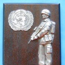 Militaria: RECUERDO MILITAR. SOLDADO SOLDADOS DE LA OTAN EN LA GUERRA DE LOS BALCANES. BOSNIA, KOSOVO. Lote 44984370