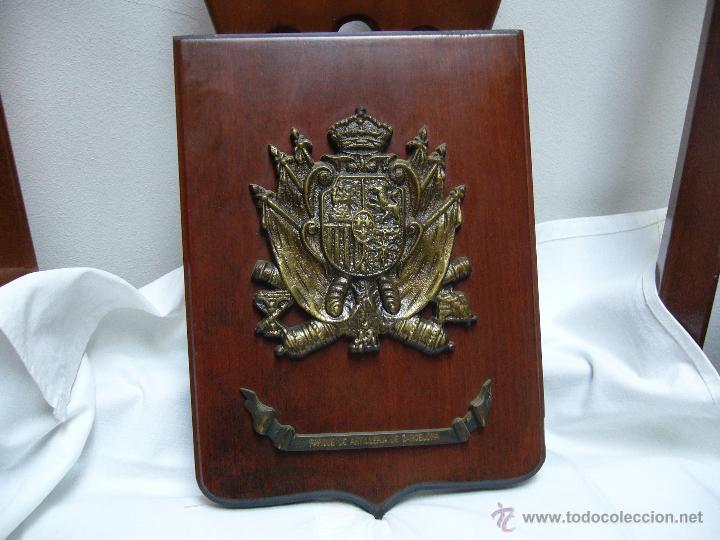 METOPA PARQUE DE ARTILLERÍA DE BARCELONA (Militar - Reproducciones, Réplicas y Objetos Decorativos)
