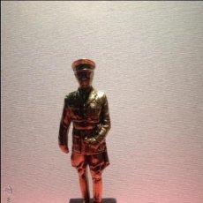 Militaria: ESTATUA O FIGURA BRONCE DE FRANCO (CON PEANA DE MÁRMOL) 2,440 KG. Lote 46381817