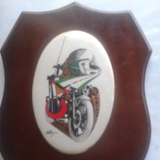 Militaria: GUARDIA CIVIL DE TRÁFICO BARCELONA- METOPA GUARDIA CIVIL BARCELONA. Lote 46615591