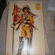 Militaria: CUADRO MILITAR - SOLDADO NAPOLEONICO. Lote 46678876