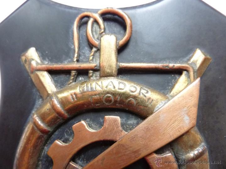 Militaria: 1948 - Metopa buque minador EOLO - Licenciatura marinos electricidad - Cataluña - Armada española - Foto 4 - 46756885