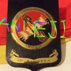 Militaria: METOPA IX BANDERA LEGION, BANDERA FRANCO, TERCIO SAHARIANO ALEJANDRO FARNESIO, 4º DE LA LEGION. Lote 47270515