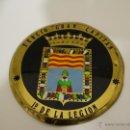 Militaria: ESCUDO EN LATÓN , TERCIO GRAN CAPITÁN 1º DE LA LEGIÓN. Lote 48522567