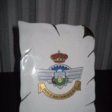 Militaria: PLACA DE PORCELANA GRUPO DE MANTENIMIENTO VII / 41. AVIACION ROKISKI. Lote 48627128