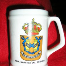 Militaria: ARMADA ESPAÑOLA. JARRA. ZONA MARITIMA DEL ESTRECHO. Lote 48844236