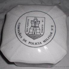 Militaria: FRASCO PORCELANA LA CARTUJA PICKMAN COMPAÑIA DE POLICIA MILITAR 2 SED FUERTES EN LA GUERRA.. Lote 49674909