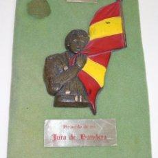 Militaria: CUADRO MILITAR. RECUERDO DE JURA DE BANDERA EN CIR 3 MILI. CENTRO RECLUTAMIENTO. SANTA ANA, CÁCERES. Lote 49721077