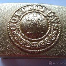 Militaria: HEBILLA REICHSWEHR. ALEMANIA. 1914-1918. I GUERRA MUNDIAL.. Lote 50882637