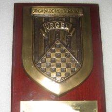 Militaria: METOPA BRIGADA DE MONTAÑA -BRONCE. Lote 51115334