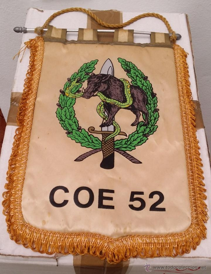 Antiguo banderin compañia operaciones especiale - Vendido en Venta ... 06942172e71