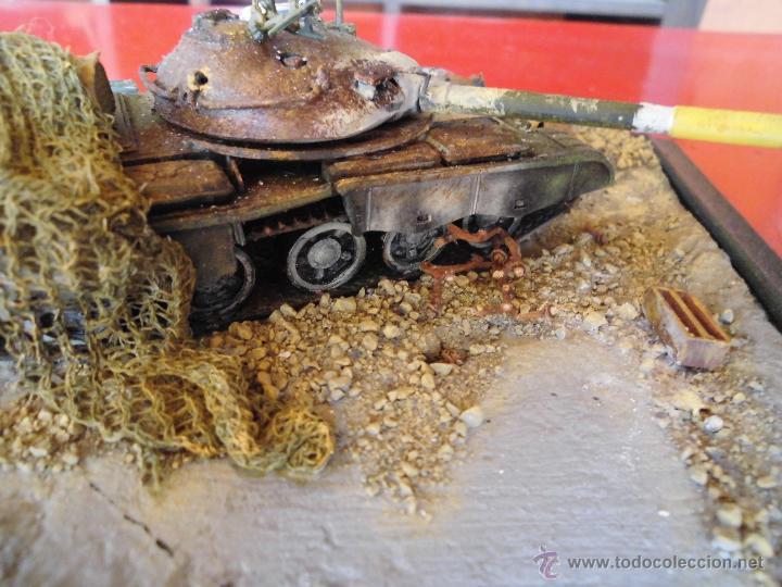 Militaria: T-62 DEL EJERCITO IRAQUI DESTRUIDO. DIORAMA ESCALA 1/72 - Foto 10 - 51706560